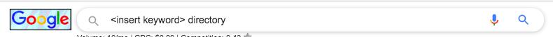 Keyword directory - Google Search