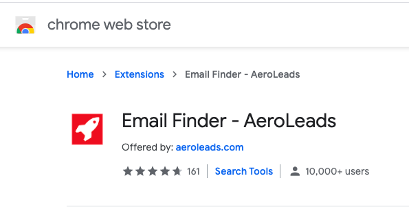 Email Finder tools aeroleads